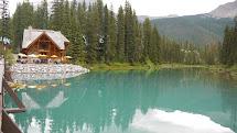 Dhirubhai Patel Emerald Lake Banff Canada