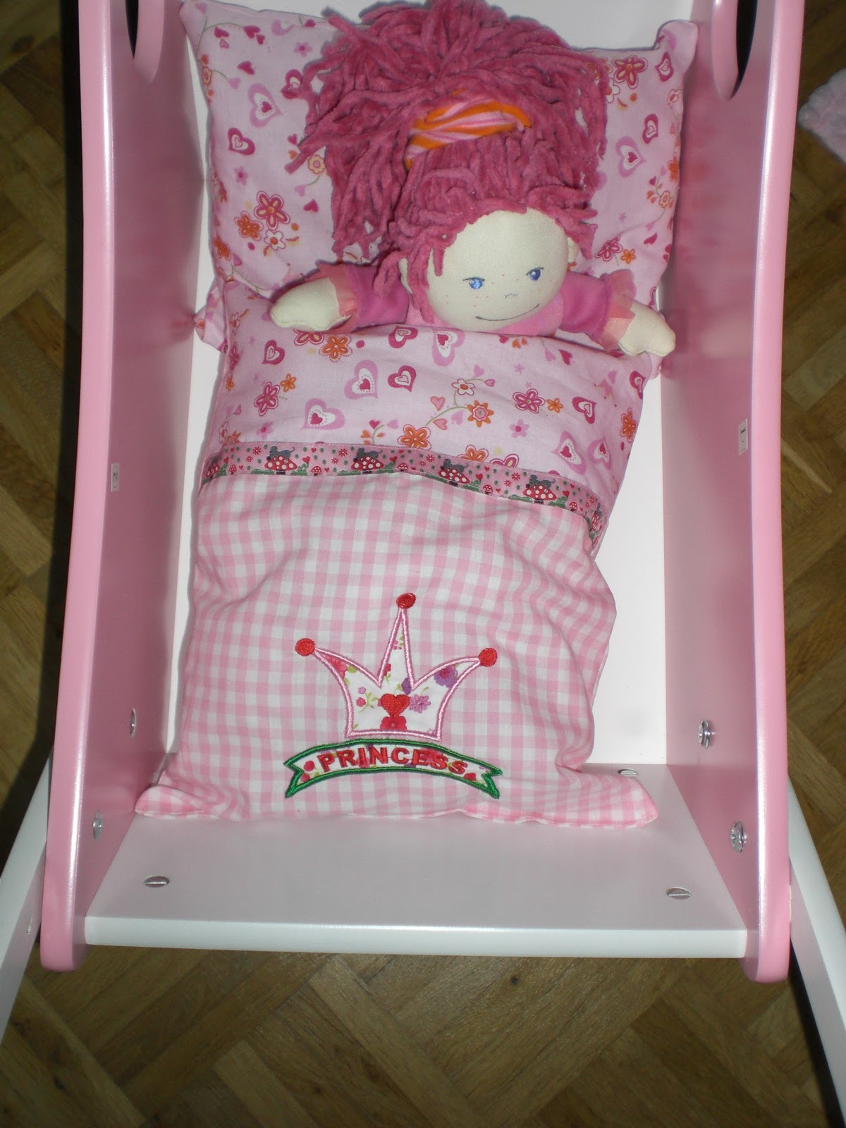 Bettwäsche Für Puppenbett