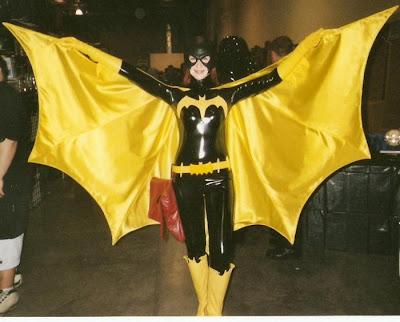 Homemade nightwing costume