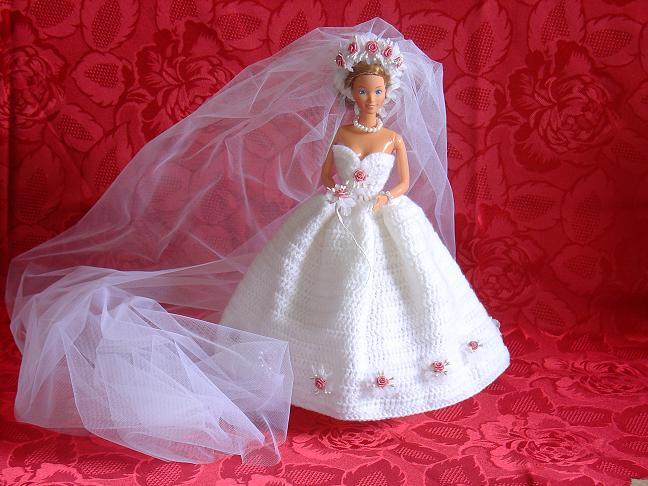 Mes loisirs cr atifs barbie katia la mari e - Barbie mariee ...