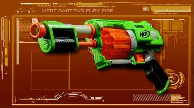 Urban Taggers Review Nerf Dart Tag Furyfire