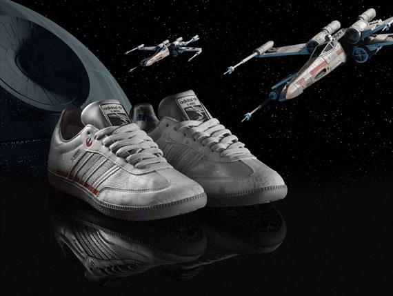 """premium selection 3bb6d 1d547 Anunciadas zapatillas Adidas de """"Star Wars"""""""
