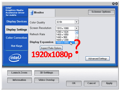 How to Get 1920x1080 Full HD Resolution From Your Laptop