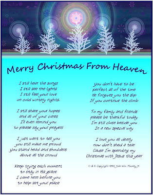 Missing Dad At Christmas.Bapo S Blog Christmas In Heaven