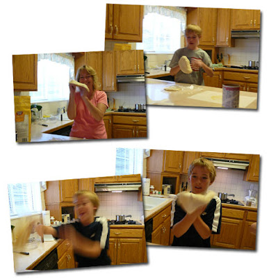 pizza tossing