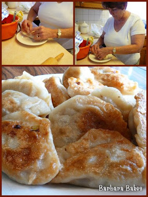 Potstickers Collage