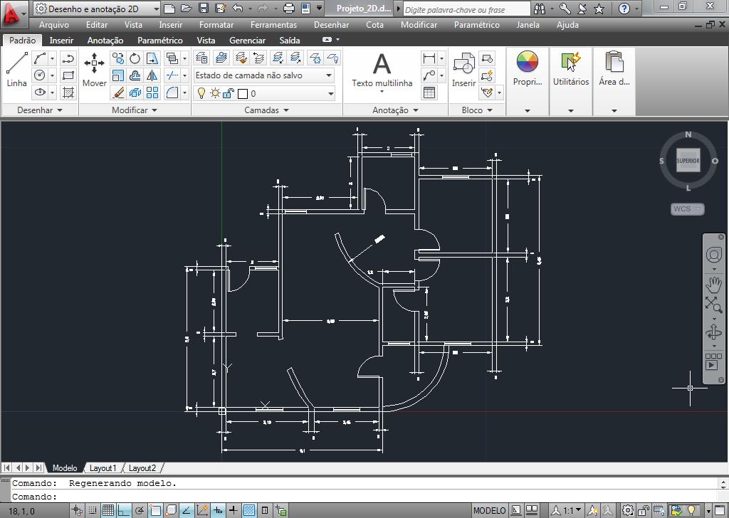 htk projetos autocad casa 2d e 3d