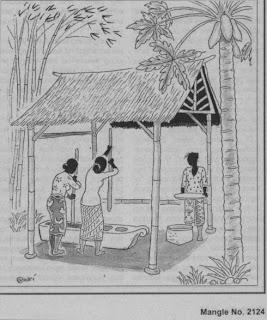 Saung Lisung (image belong to Rumah Baca Buku Sunda)