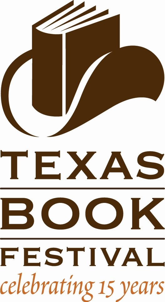Celebrating 15 Years 15th Vow Renewal Anniversary Or: Logosociety: Texas Book Festival Celebrating 15 Years Logo