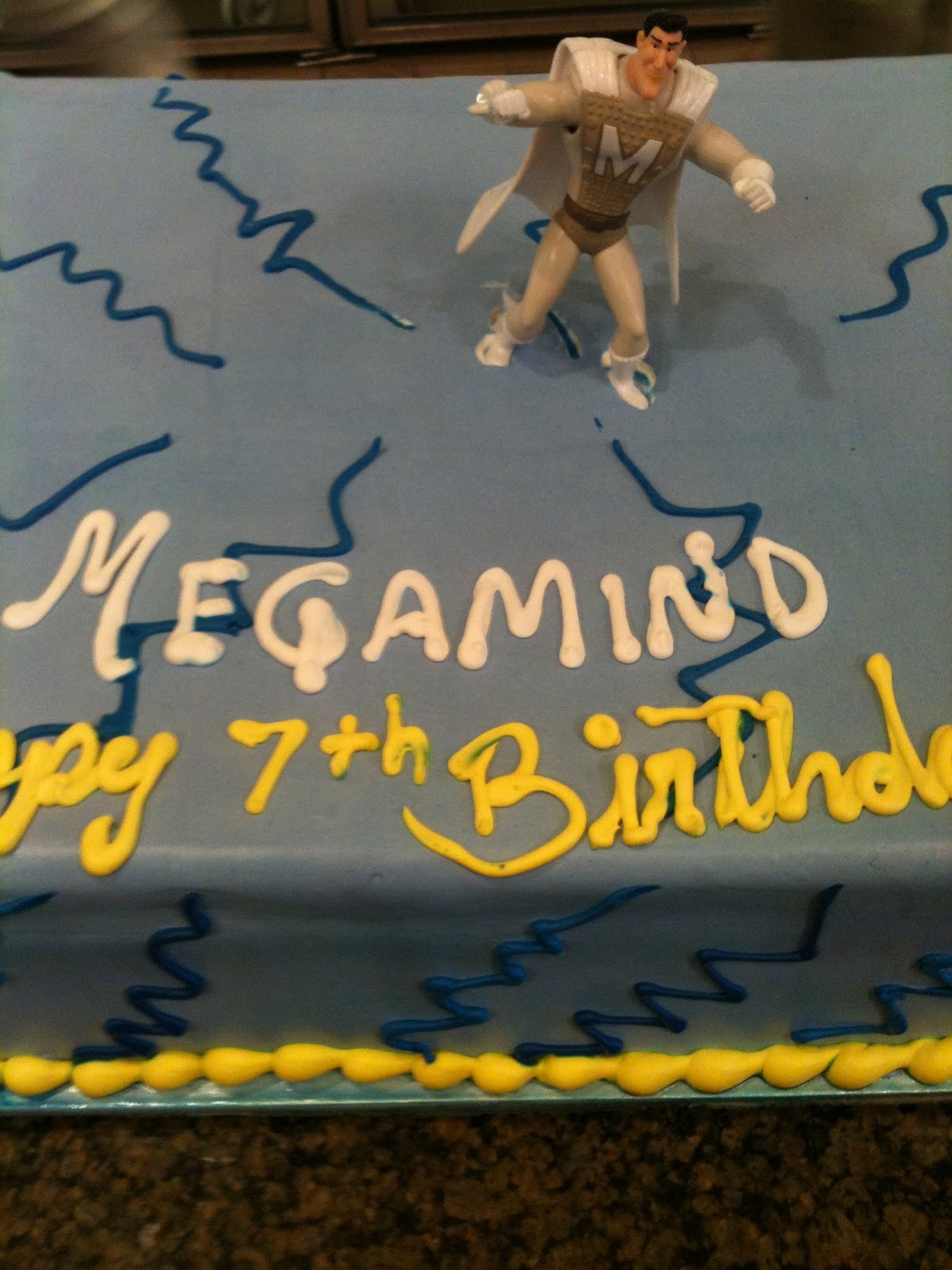 Megamind birthday, an extra hour, and new goals
