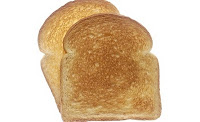 two pieces of toast