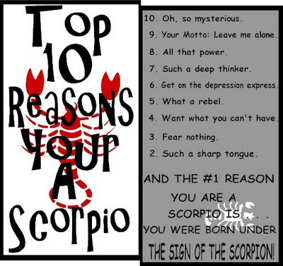 Scorpio male traits in love