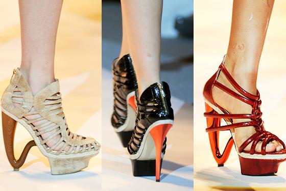 Paprika High Heel Shoes