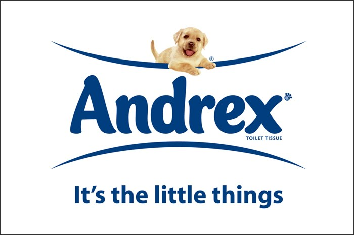 Andrex brand slogan