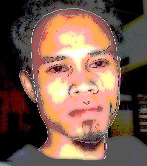 tutorial photoshop trace efek kartun 10