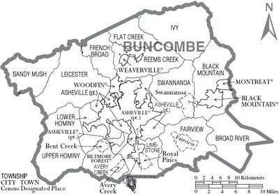 Asheville and Buncombe County: March 2010