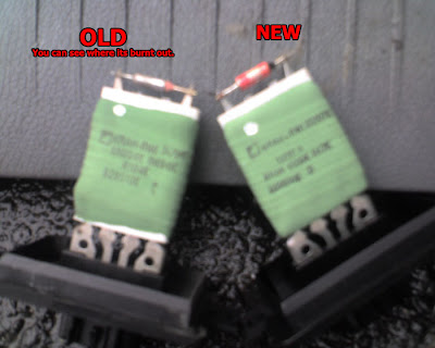 How to Repair a Jeep GC Heater Resistor : How to repair Jeep
