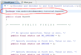 How to base64 encode decode Android | Android Code Monkey