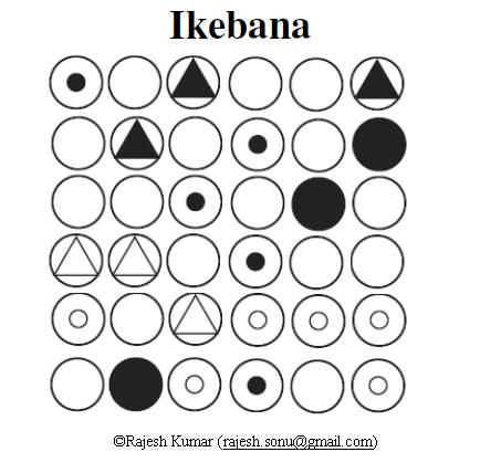 Logic Puzzles: Ikebana