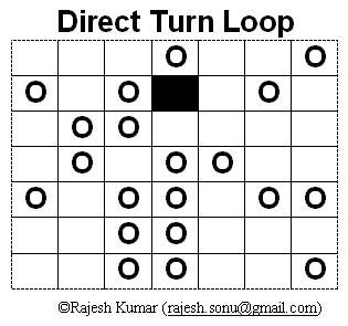 Direct Turn Loop Puzzle