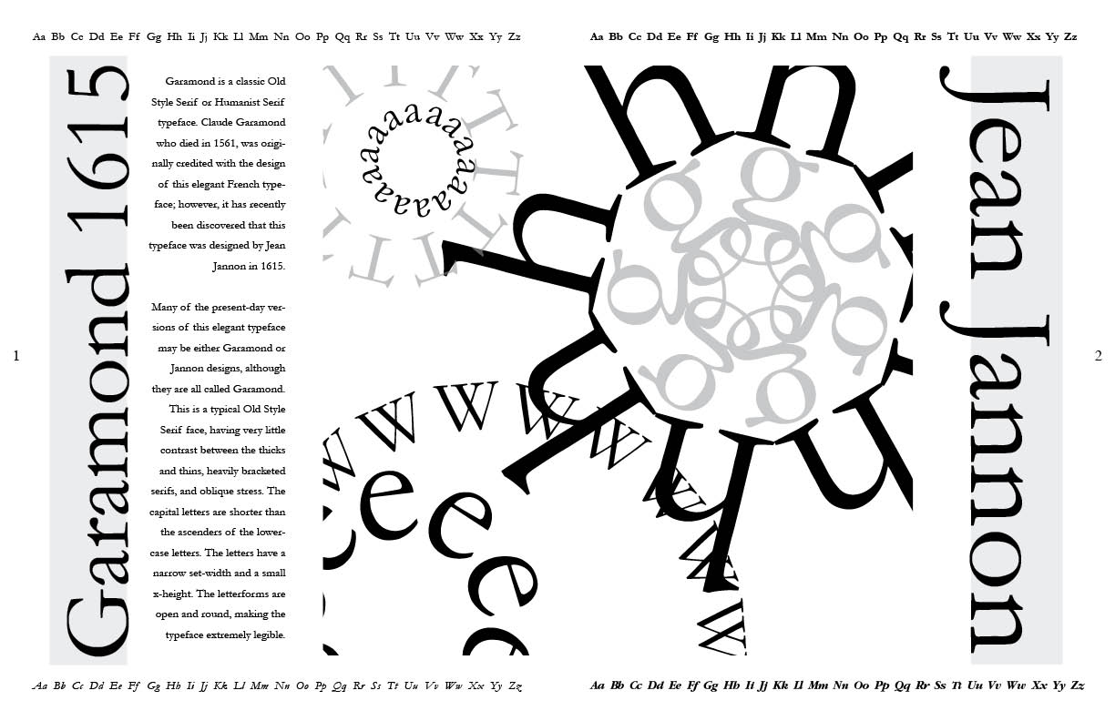 The 3 Sisters Blog: Font Spread