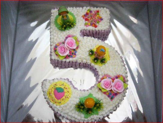De Ir Cakes Birthday Cake Bentuk Angka
