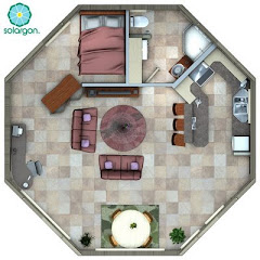 Suggested floor plan Solargon 30