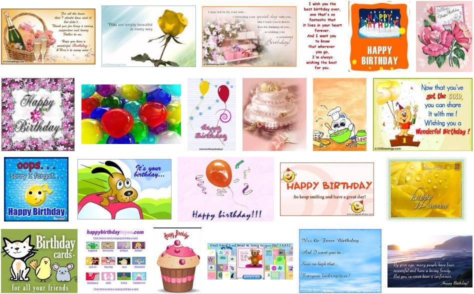 E Cards Best Birthday