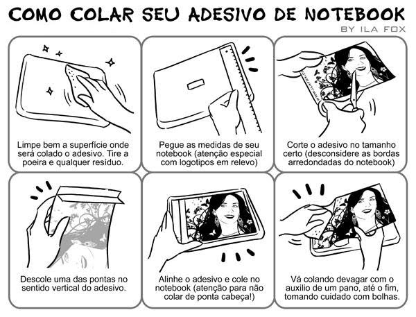 Decolados Adesivos Decorativos: Notebooks e Celulares