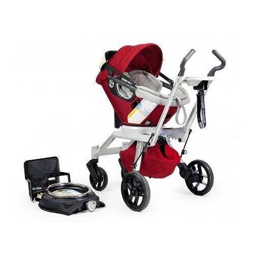 Ruby Red Hot Orbit Baby Stroller Travel System G2