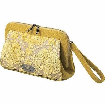 , Diaper Bag of Day: Buttercream Cake Cameo Clutch