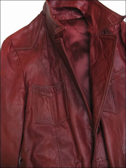 East west musical instruments leather jacket