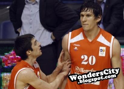 Tall Athletes Boban Marjanović 222 Cm Tall Athlete