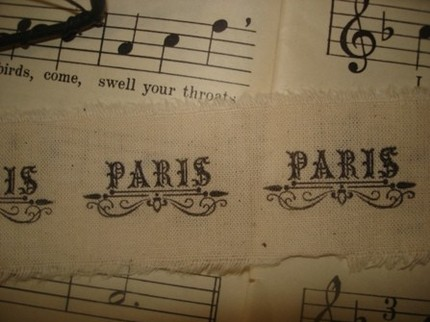 Fabulous French-Inspired Ribbons~An Etsy Showcase