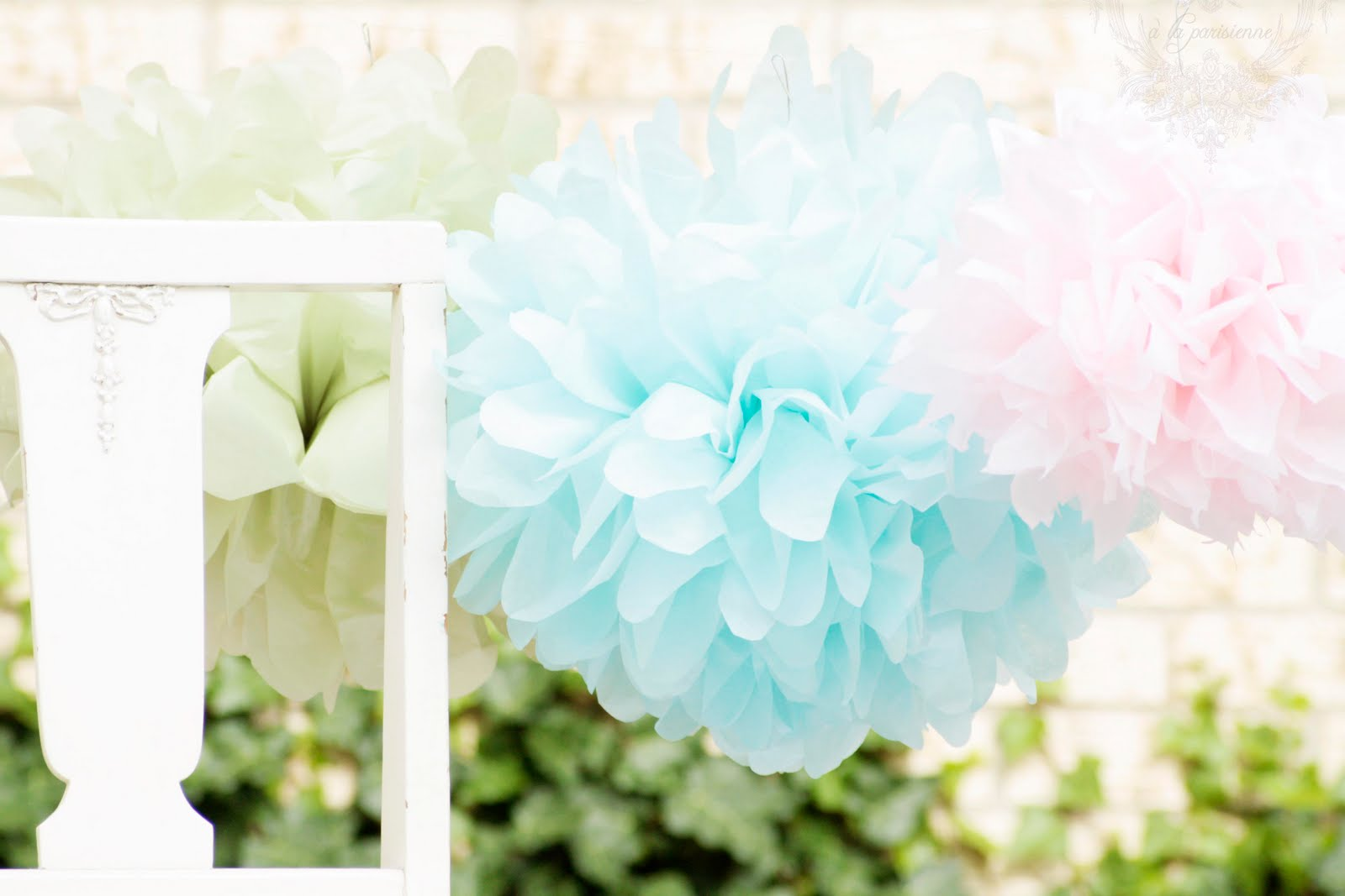 Secret Garden Party~Soft Touches~Poms and Marshmallows