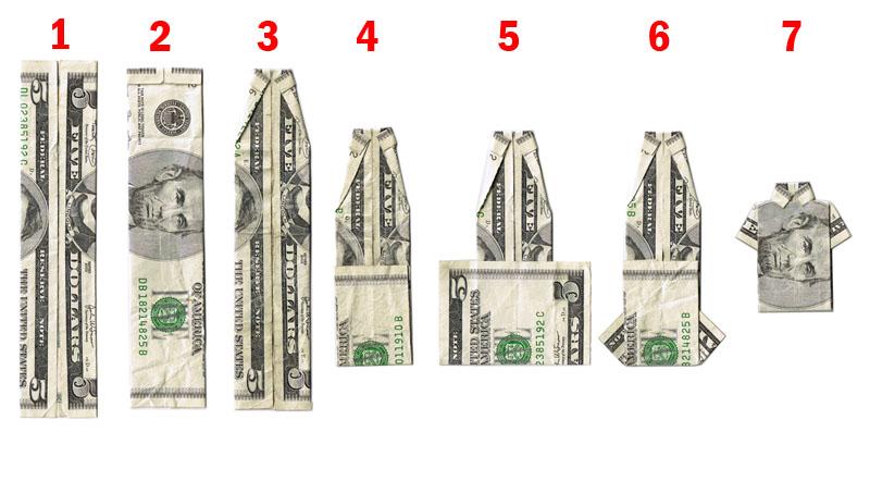 0003> How to make a mini Abe Lincoln shirt