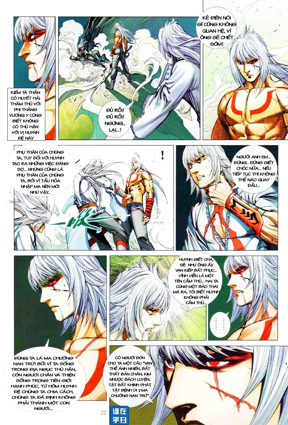 Thiên Hạ Vô Địch Kiếm Tà Thần chap 8 end trang 21