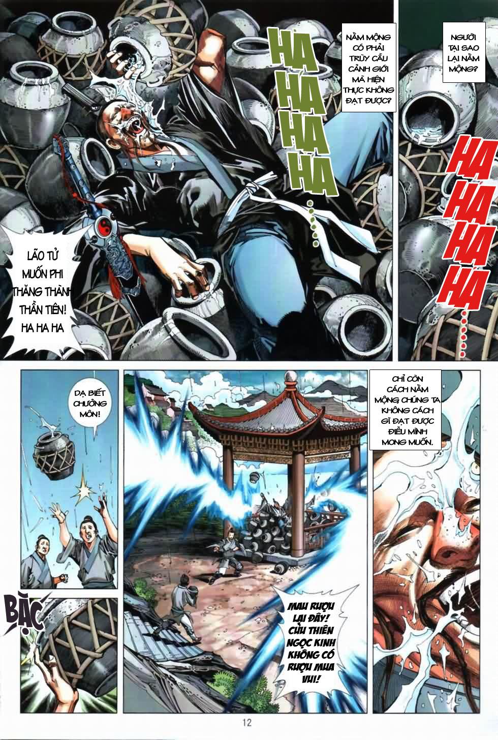 Thiên Hạ Vô Địch Kiếm Tà Thần chap 3 trang 12