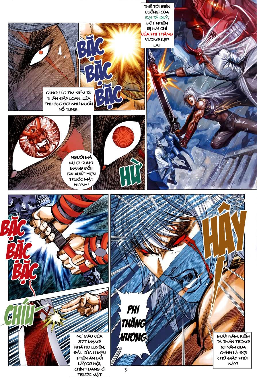 Thiên Hạ Vô Địch Kiếm Tà Thần chap 4 trang 5