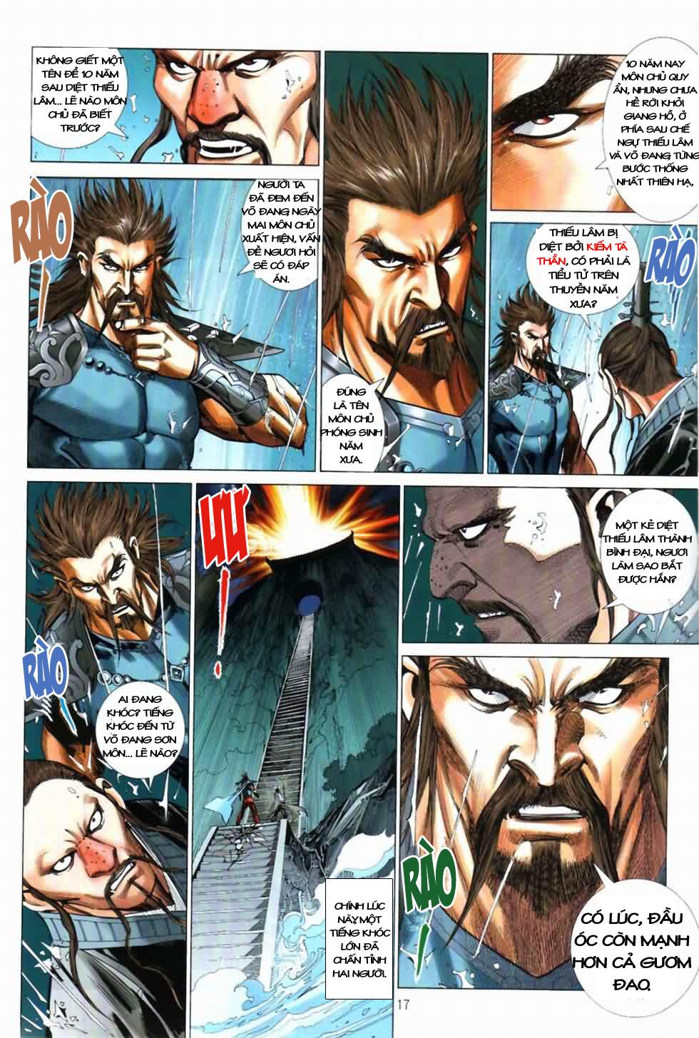 Thiên Hạ Vô Địch Kiếm Tà Thần chap 3 trang 17