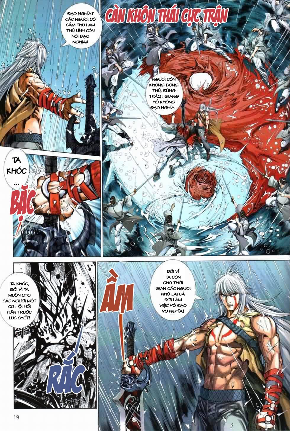 Thiên Hạ Vô Địch Kiếm Tà Thần chap 3 trang 19