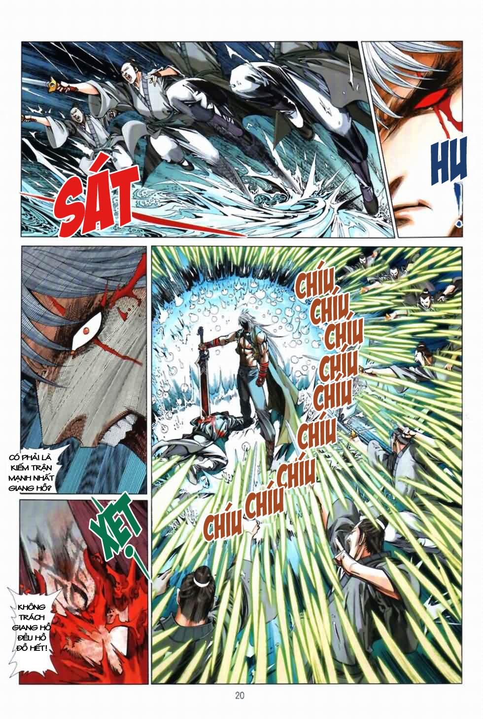 Thiên Hạ Vô Địch Kiếm Tà Thần chap 3 trang 20