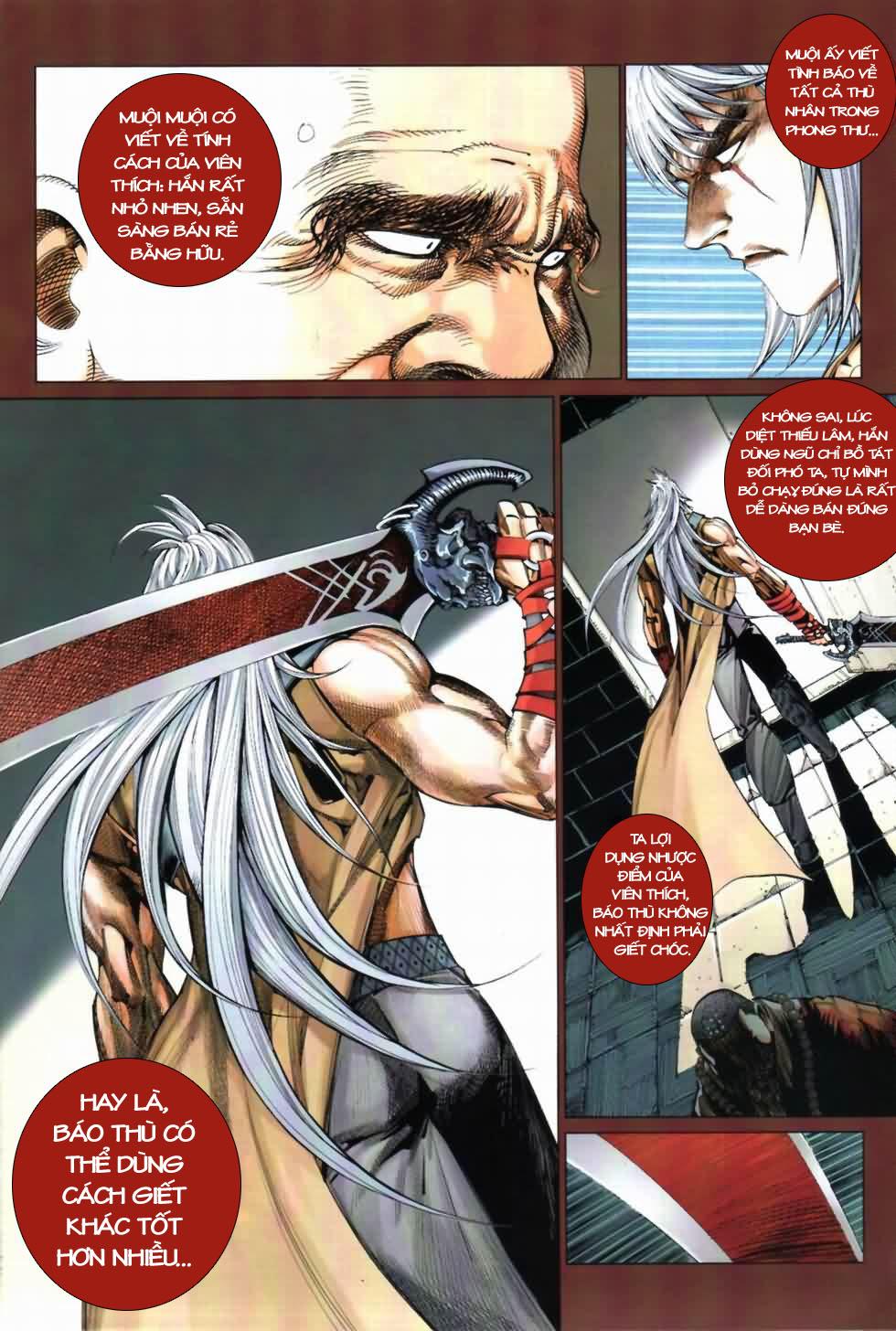 Thiên Hạ Vô Địch Kiếm Tà Thần chap 3 trang 28