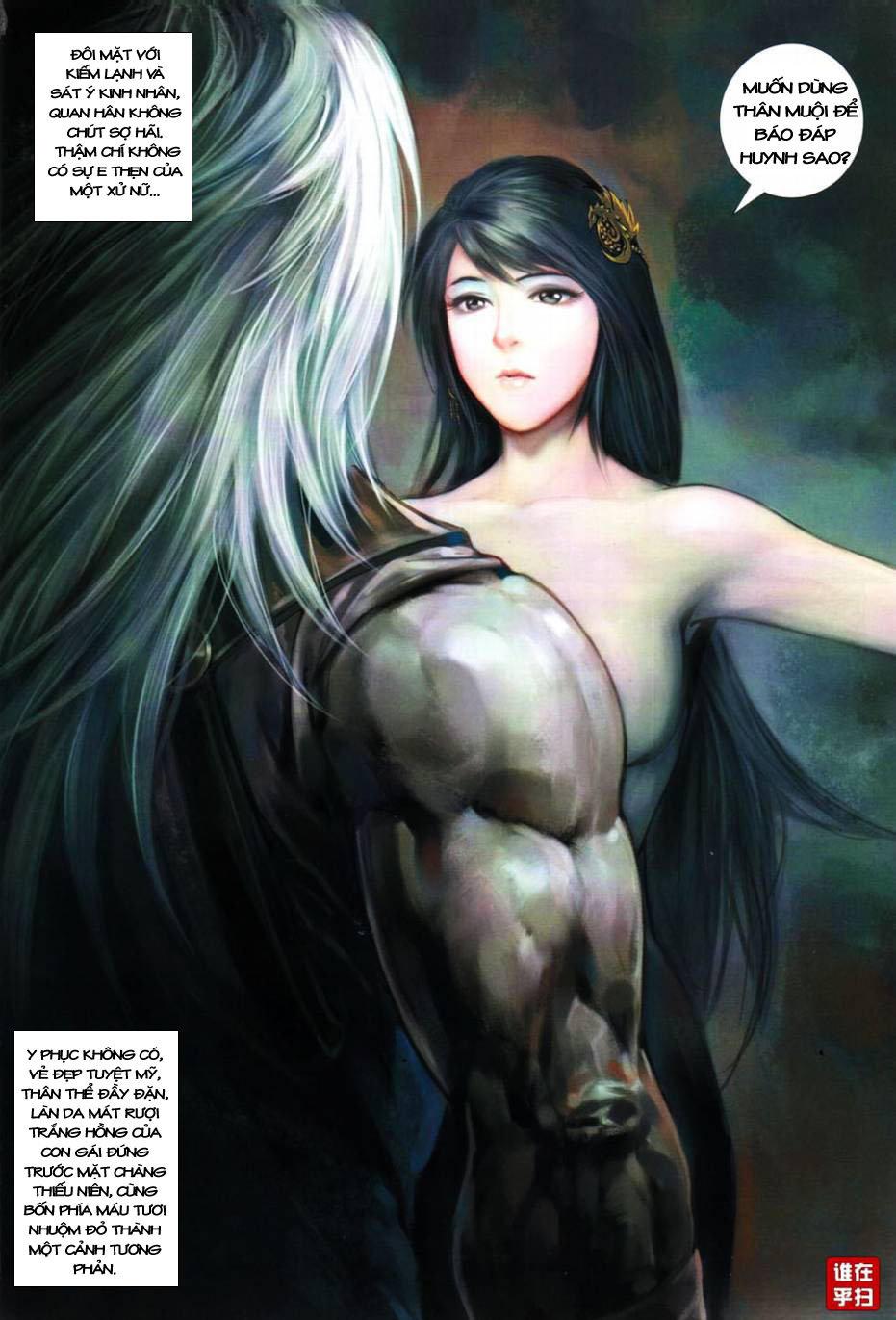Thiên Hạ Vô Địch Kiếm Tà Thần chap 1 trang 21
