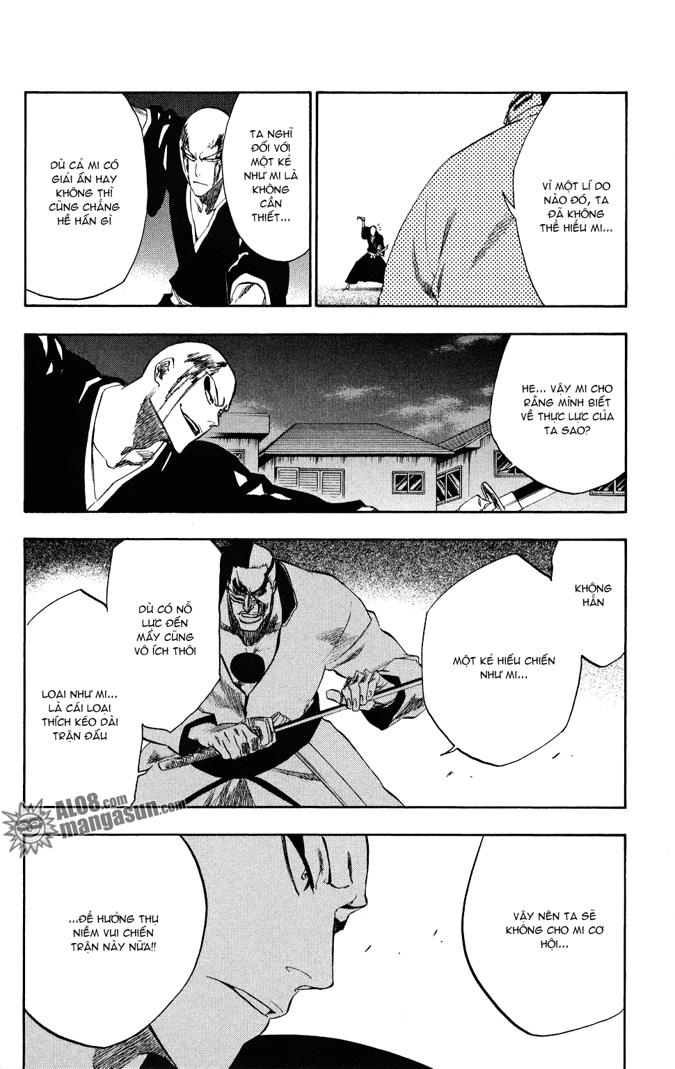 Bleach chapter 203 trang 18