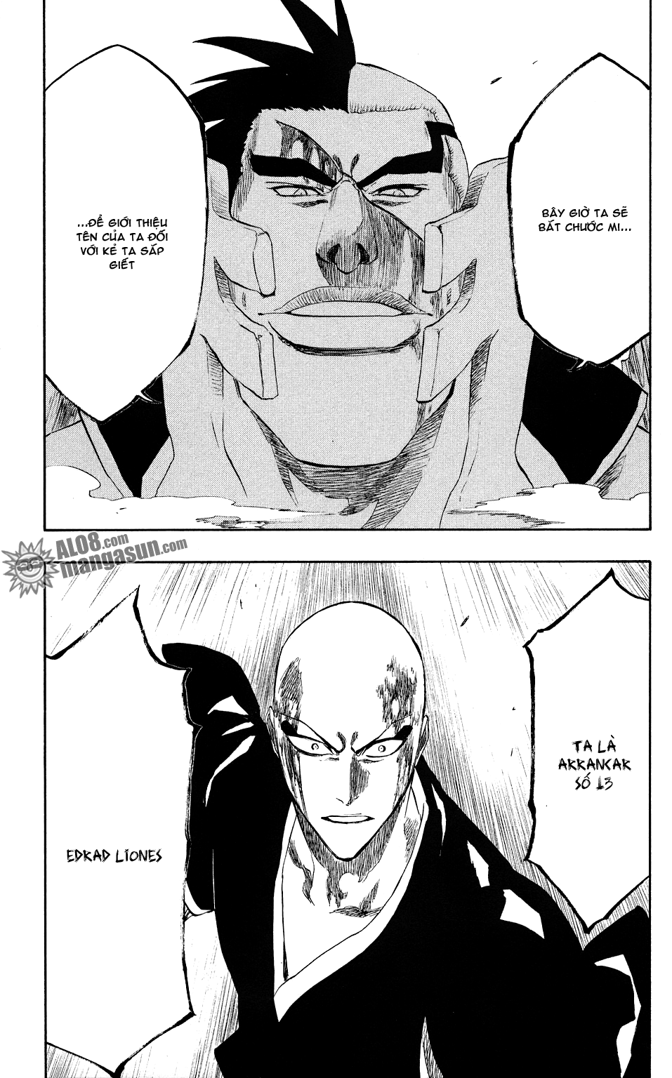 Bleach chapter 203 trang 21