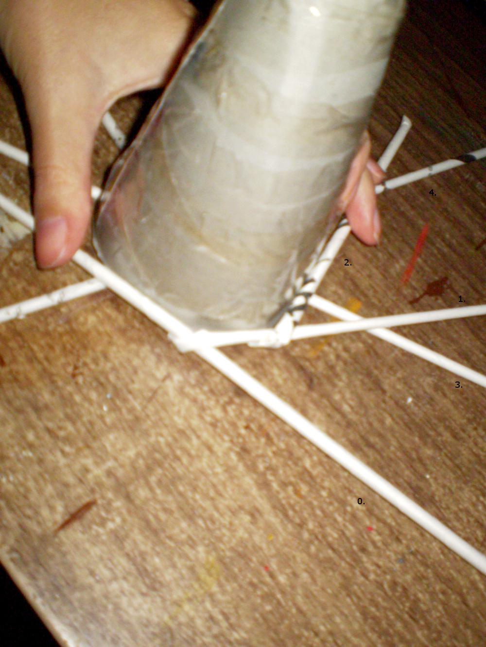 Alex creative  Vianočný stromček pletený z papiera 8548c444623