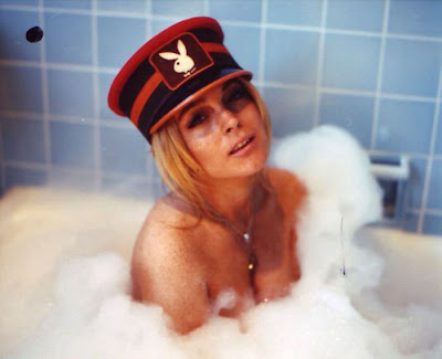 lohan naked tub