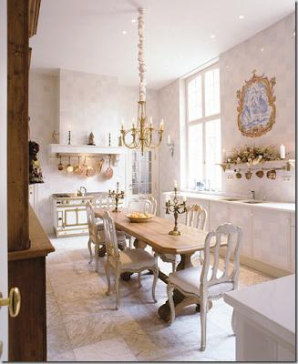 Gorgeous White Kitchen No Uppers