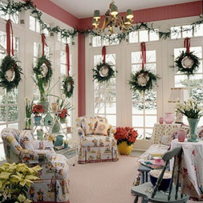 home decorating ideas for christmas holiday willow decor decorating wreaths in every window 13398